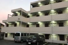 Apartemen Siswa Asahi Shinbun di Kurokawa.