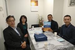 Fajar san, Siswa Asahi Shinbun 2018 berkunjung ke Sekolah Iwatani Gakkou