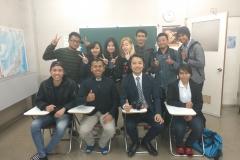 Bersama Kepala Sekolah Nakanishi Sensei di Aoyama School of Japanese